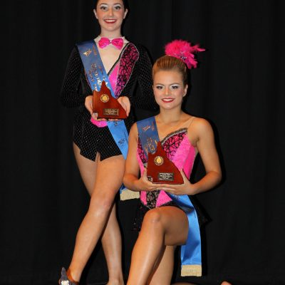 2018 Senior Duo State Champions – Chelsea Humphreys & Lucy Samin