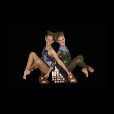 2017 Junior Duo -Becky Reid & Jazi Windeyer