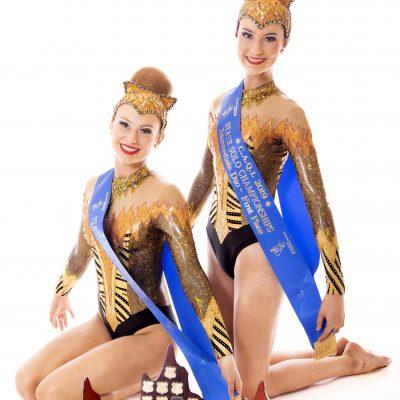2019 Intermediate Duo State Champion – Whitney Edward & Sophie Clouston