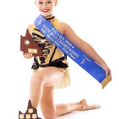 2019 Sub-Juniors Solo State Champion – Zoe Bakon