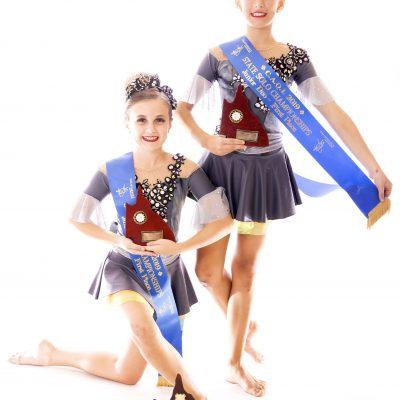 2019 Juniors Duo State Champions – Tiarnie Barker & Jenna Stumbles